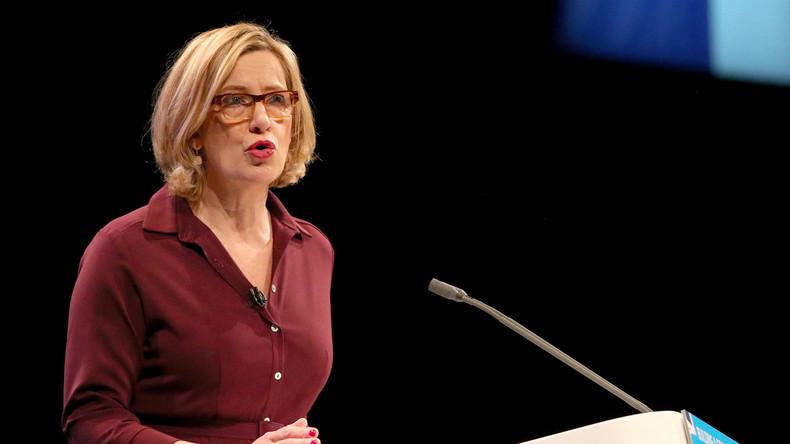 Britische Innenministerin Rudd tritt zurück