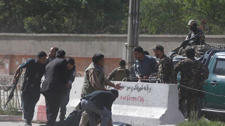 Anschlag auf NATO-Hauptquartier und US-Botschaft in Kabul: Zahl der Toten steigt auf 25