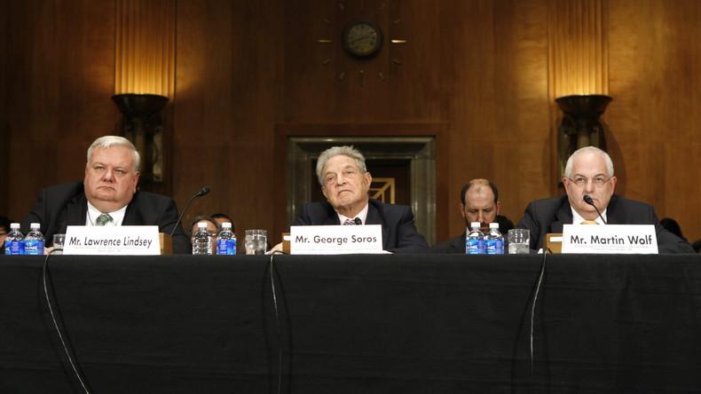 Soros und Silicon-Valley-Milliardäre setzen 50 Millionen für Trump-Untersuchung in den Sand