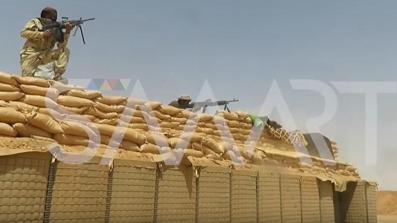 """USA bilden in Südsyrien weitere """"Rebellen"""" aus und errichten Befestigungsanlagen"""