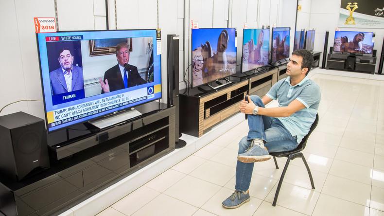 Iranisches Staatsfernsehen bezeichnet Netanjahus Präsentation als Propaganda