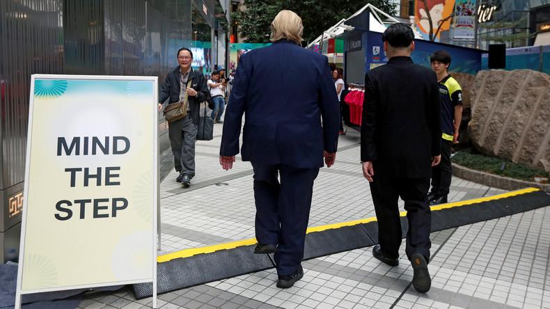 Treffen zwischen Kim Jong-un und Donald Trump: US-Präsident votiert für südkoreanisches Friedensdorf