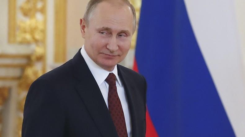 Putin und Macron sprechen sich für die Bewahrung des Atomabkommens mit Iran aus