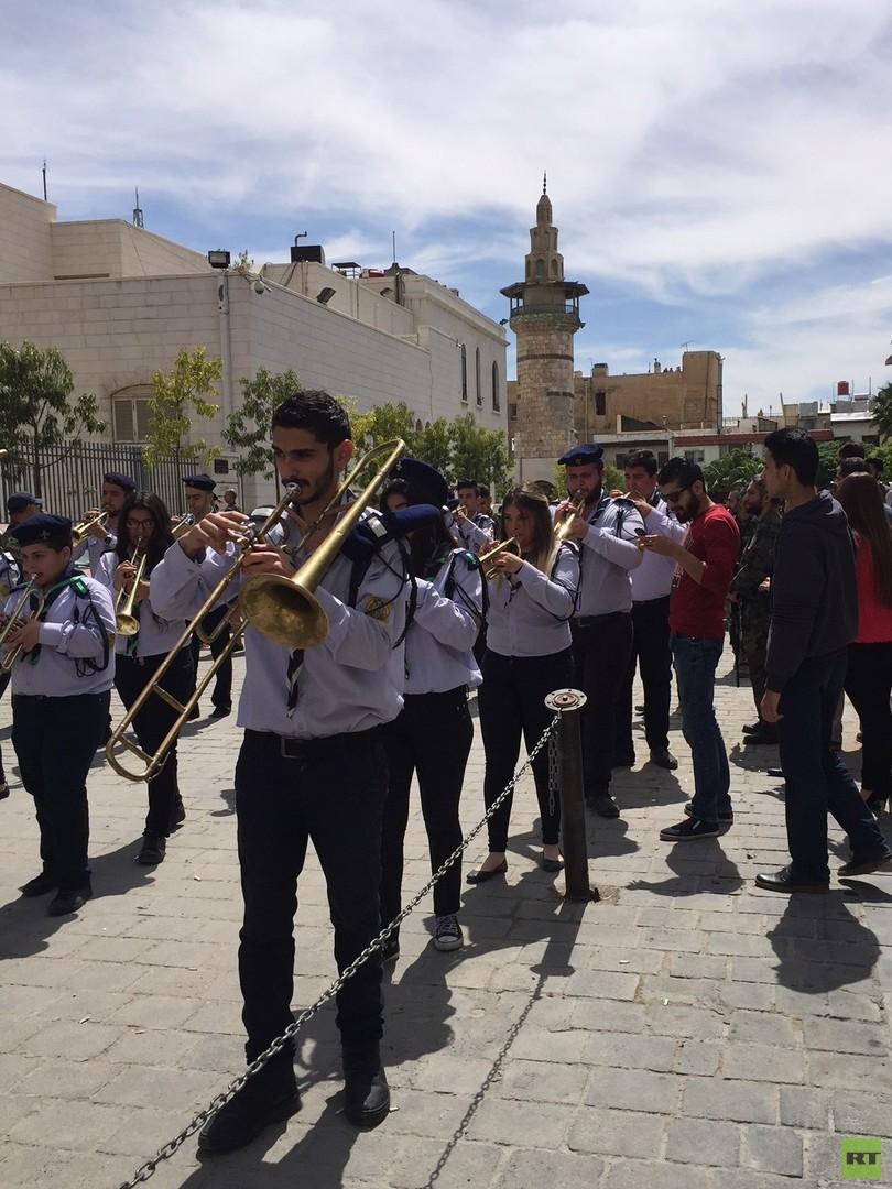 Damaskus: Syrische Christen feiern erstmals seit vielen Jahren Osterfest ohne Terrorgefahr