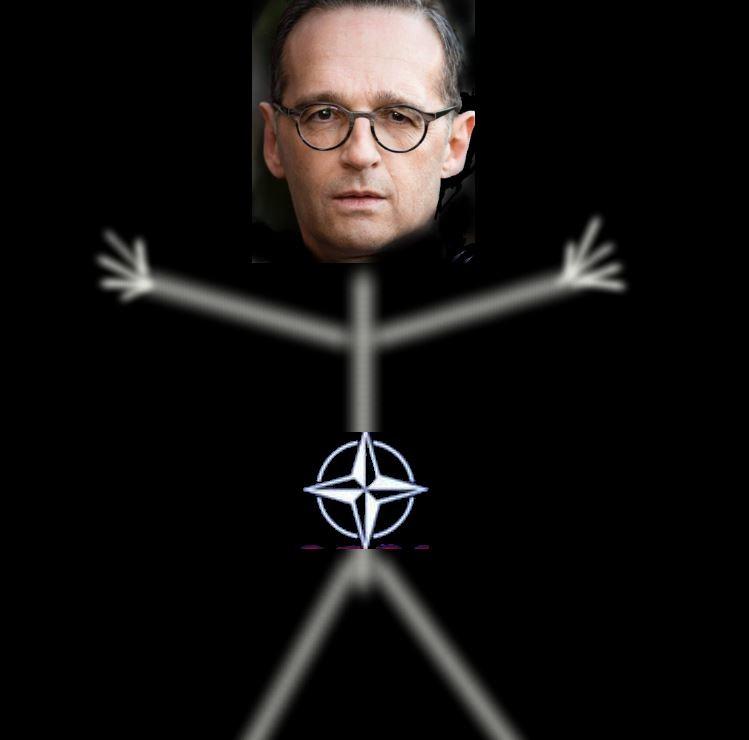 """Diether Dehm hat alles richtig gemacht – und korrigiert sich: Heiko Maas ist """"NATO-Strichmännchen"""""""