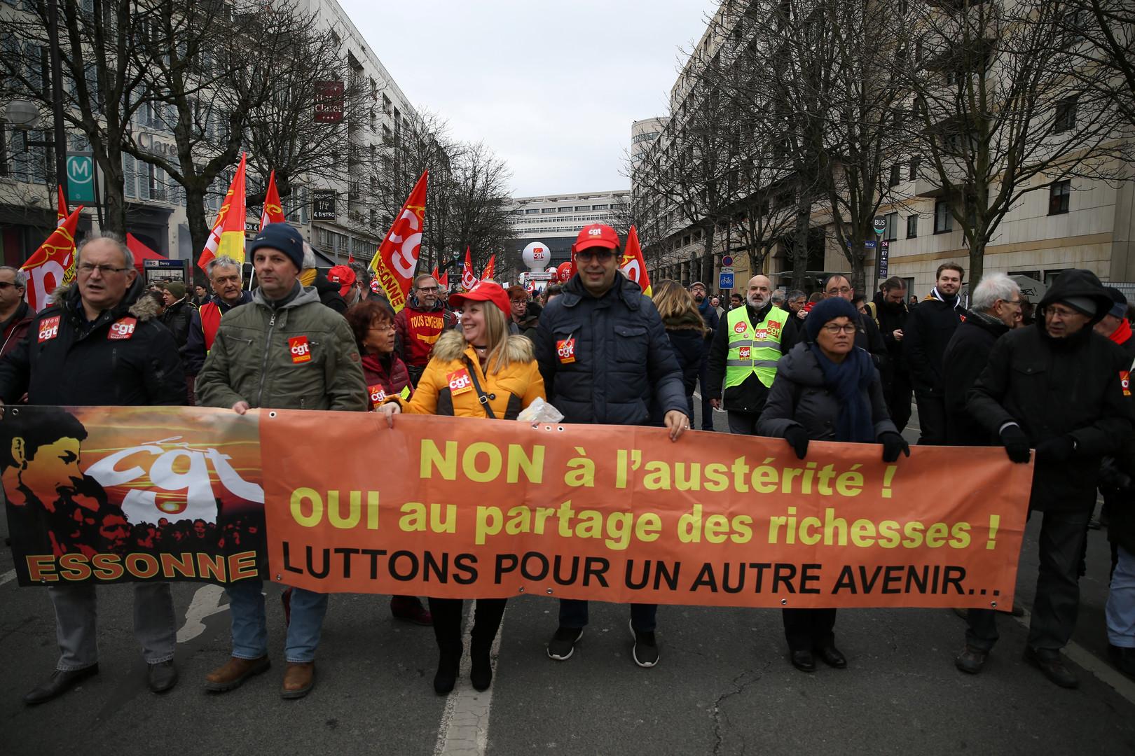 Frankreich: Streikende Eisenbahner können auf breite Solidarität in der Bevölkerung zählen