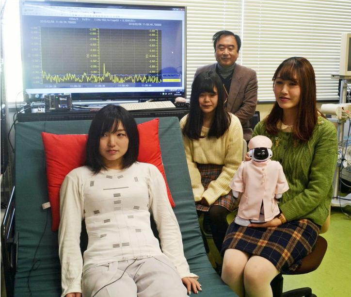 EKG zum Anziehen - Shirt mit Sensoren hilft Atmung und Herz zu überwachen