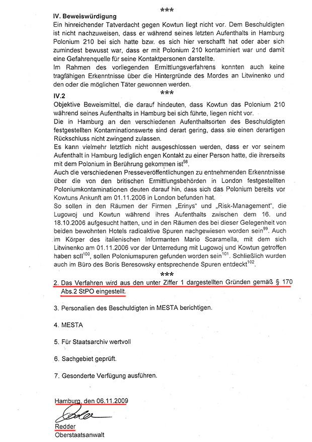 Mordfall Litwinenko: Ermittlungsdokumente entlasten russische Hauptverdächtige