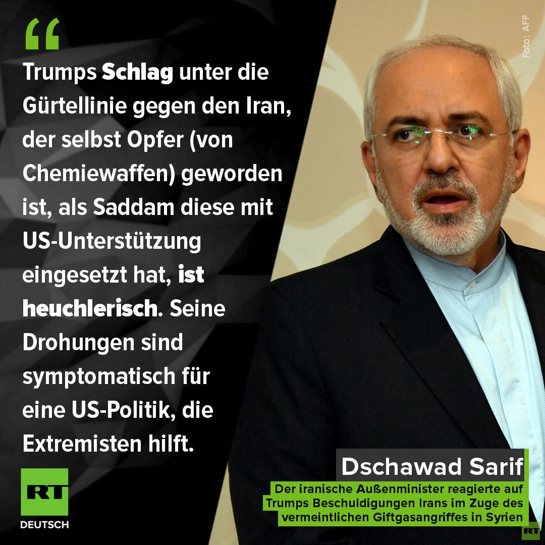 Syrien-Krieg kurz vor Eskalation: Teheran warnt Trump - Oliver Stone kritisiert westliche Kriegslust