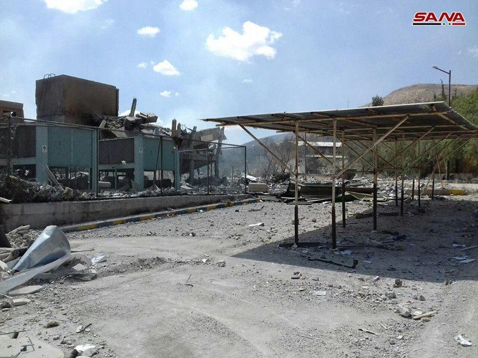 Fast alle Raketen abgefangen: USA fokussierten Angriffe in Syrien auf drei Ziele