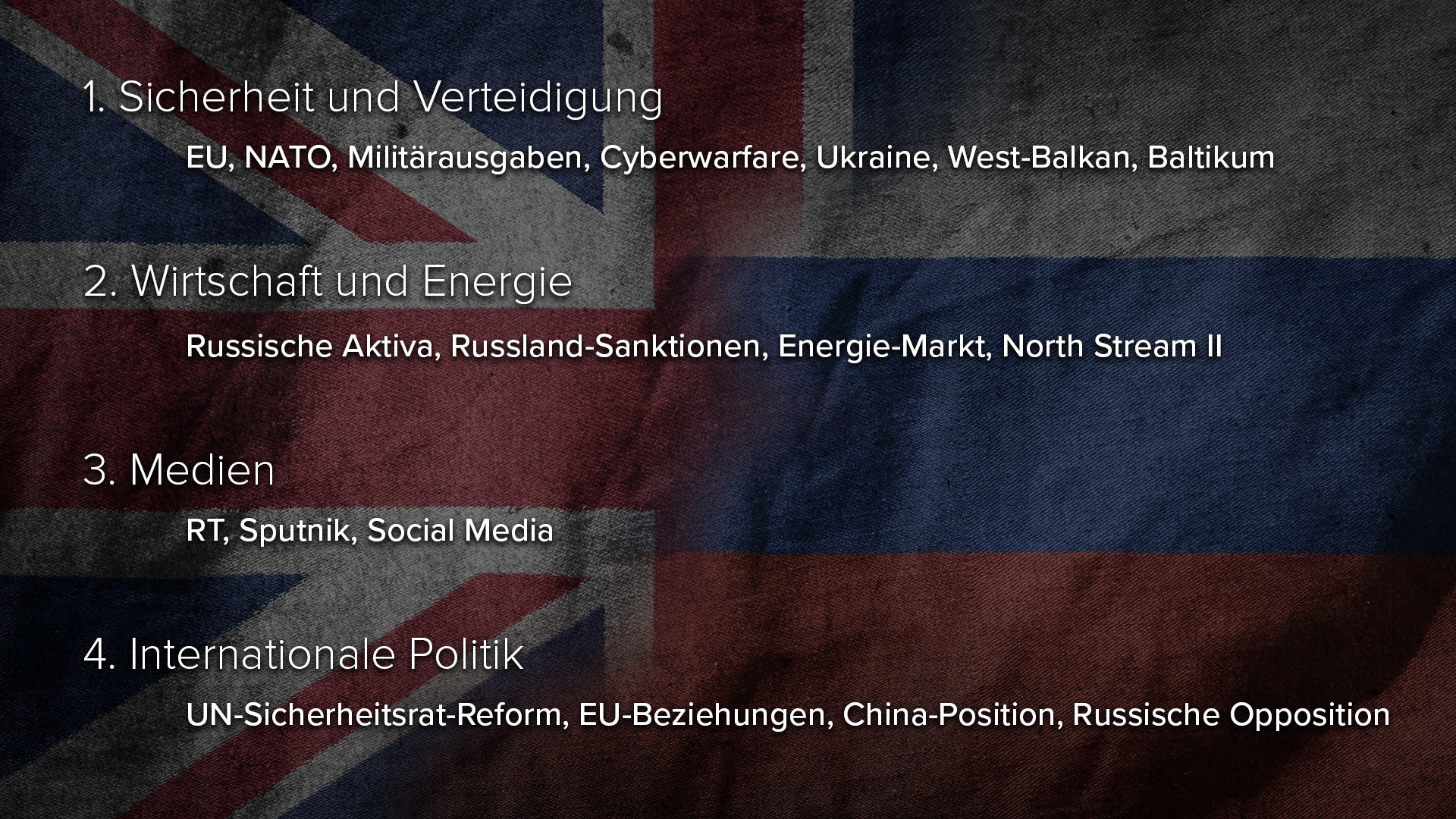 Causa Skripal: Regierungserklärungen von Theresa May als Teil einer Kriegs-Agenda gegen Russland