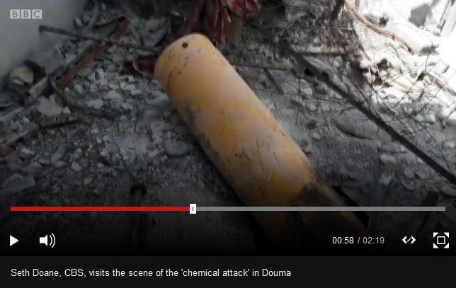 """BBC/CBS oder BILD: Wer hat die richtige """"Assad-Chemie-Bombe"""" in Duma gefunden?"""