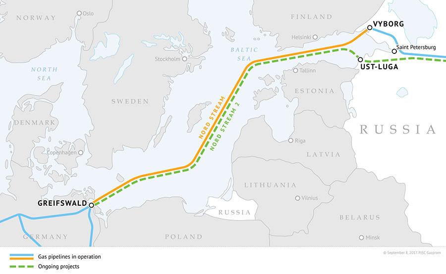 Gazprom zu Europas steigender Gas-Nachfrage: Notfalls bauen wir noch eine dritte Pipeline