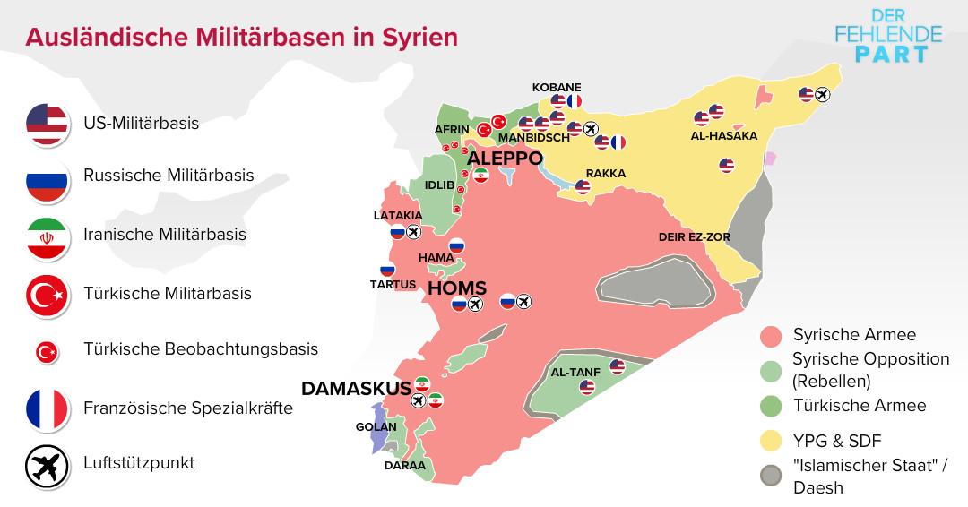 """Syrien: Neue westlich-arabische """"Kontaktgruppe"""" soll Verliererstaaten wieder Einfluss bringen"""