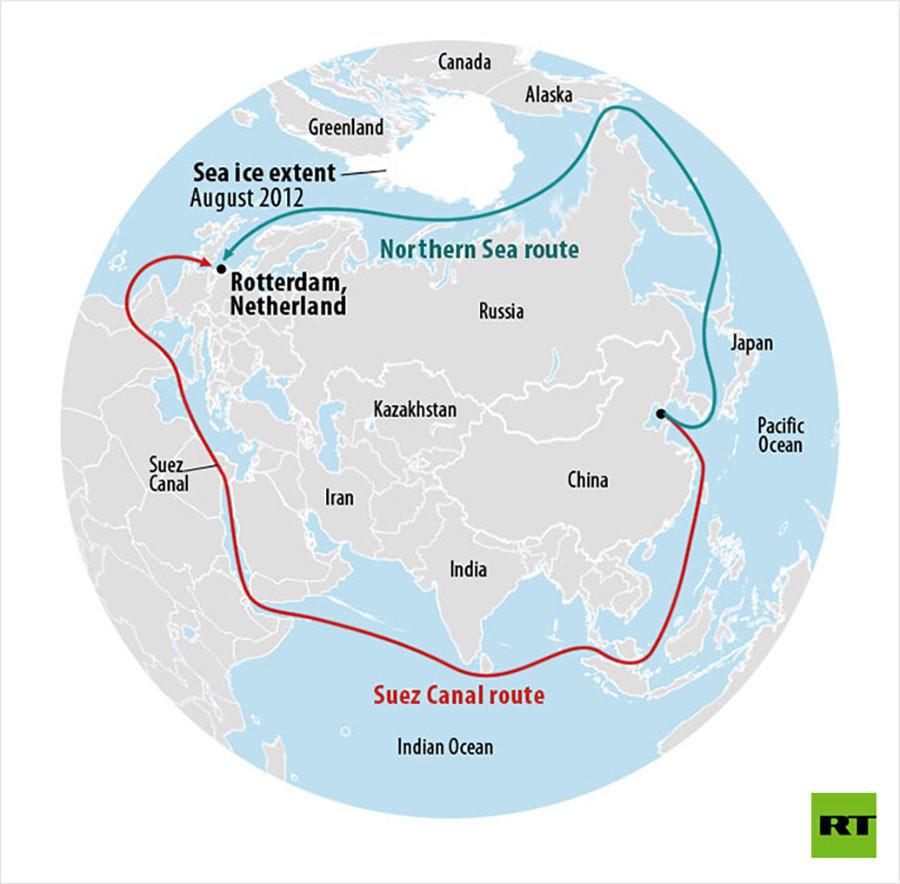 Russische Frachtschifffahrt entlang der Nordostpassage soll sich dieses Jahr verdoppeln