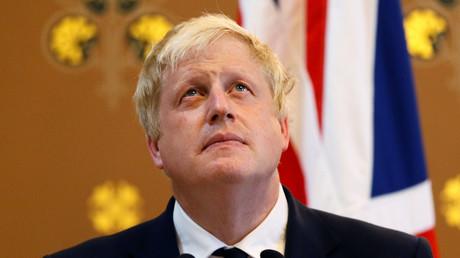 Der britische Außenminister Boris Johnson....