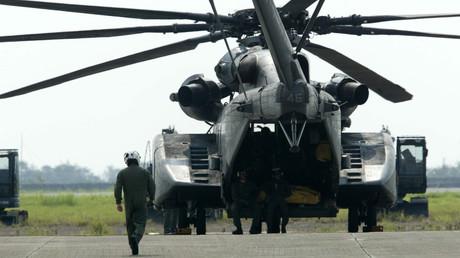 US-Hubschrauber auf Taiwan. (Symbolbild)