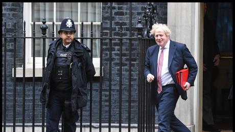 Der Lüge überführt: Der britische Außenminister Boris Johnson.