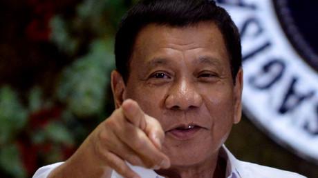 Rodrigo Duterte, Manila, Philippinen, 19. Dezember 2016.