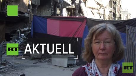 Sprach mit RT Deutsch von vor Ort in Syrien: Karin Leukefeld.