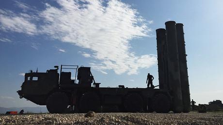 Das russische Luftverteidigungssystem S-400 in Syrien ist aktiviert...