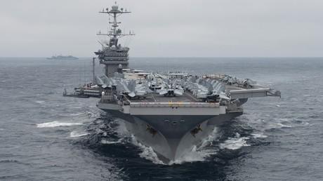 Der US-Flugzeugträger Harry Truman ist unterwegs zur syrischen Küste.