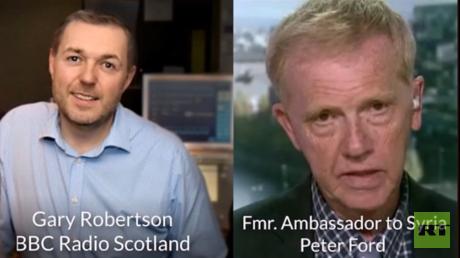 Botschafter a.D. Peter Ford im Gespräch mit der BBC