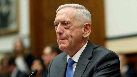 US-Verteidigungsminister James Mattis während der Anhörung im US-Kongress am Donnerstag.