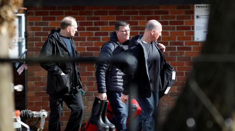 Ermittler der OPCW treffen in Salisbury ein, wo Sergej und Julia Skripal Opfer eines Giftanschlags wurden.