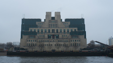 Das Hauptquartier des  MI6 in London. Für den britischen Auslandsgeheimdienstes war auch Sergej Skripal tätig, dessen Vergiftung nun Anlass für eine antirussische Kampagne ist.