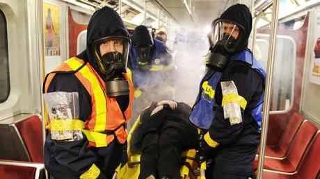 Sicherheitspersonal bei einer CBRN-Übung (Symbolbild aus Kanada).