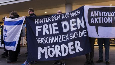 Antideutsche machen regelmäßig gegen die Friedensbewegung mobil (Symbolbild aus Berlin).