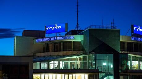 Funkhaus des Mitteldeutschen Rundfunks (MDR) in Halle/Saale