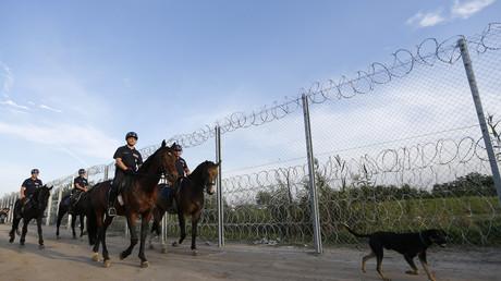 Ungarische Grenzpatrouille