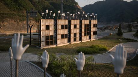 Politisches Tauwetter: Südkorea stoppt Lautsprecherpropaganda an Grenze zum Norden (Archivbild)