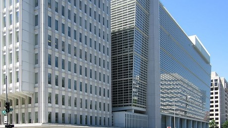 Die Hauptverwaltung der Weltbank in Washington.
