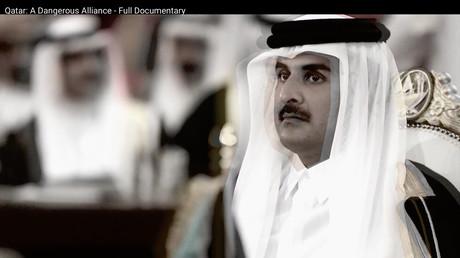 Nicht glaubwürdig aber gut produziert- eine Anti-Katar-Kampagne mit Expertise aus dem Hause Bell Pottinger (Quelle: Screenshot aus dem YouTube-Video