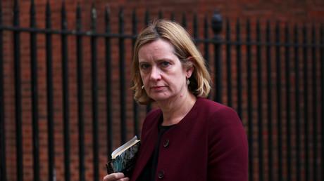 Amber Rudd verlässt 10. Downing Street