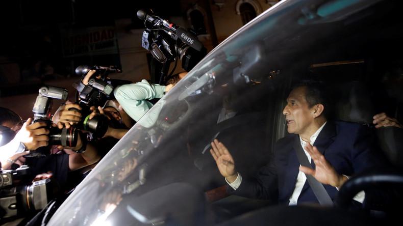Perus Ex-Präsident Ollanta Humala und seine Frau verlassen Untersuchungshaft