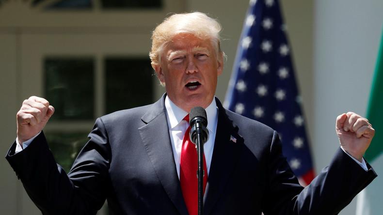 Donald Trump fordert Afrika zur Unterstützung der US-Bewerbung für Fußball-WM 2026 auf