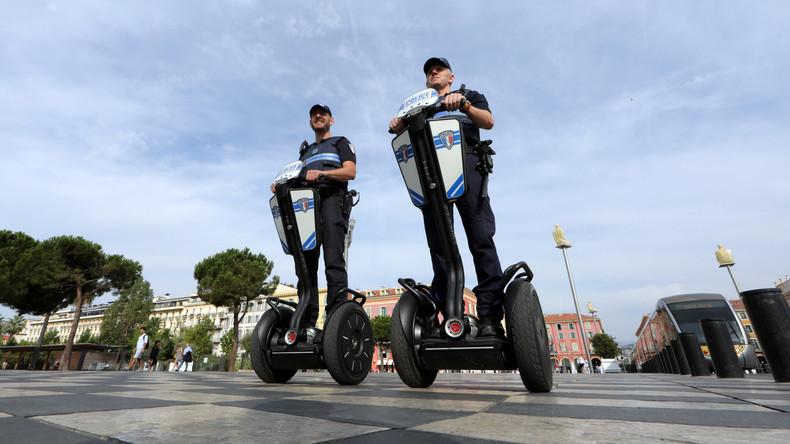 Schreckschusspistole löst Panik in Nizza aus