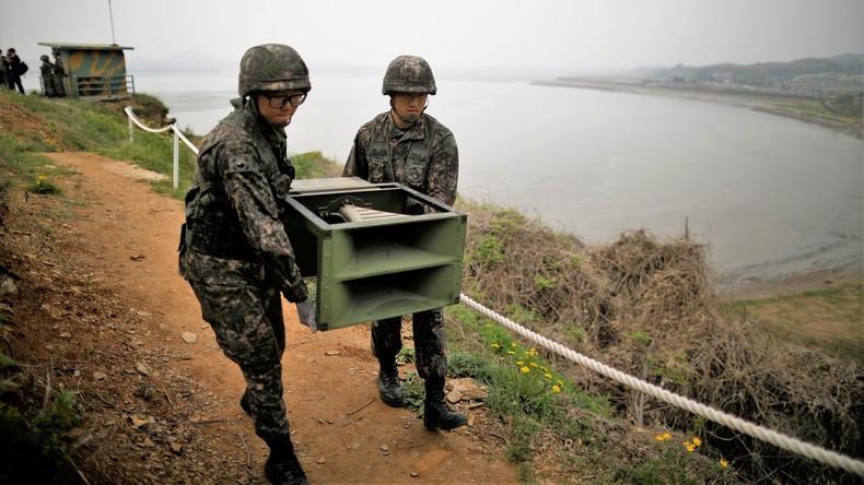Südkorea stellt Propaganda-Beschallung ein und bietet Nordkorea Zusammenarbeit an
