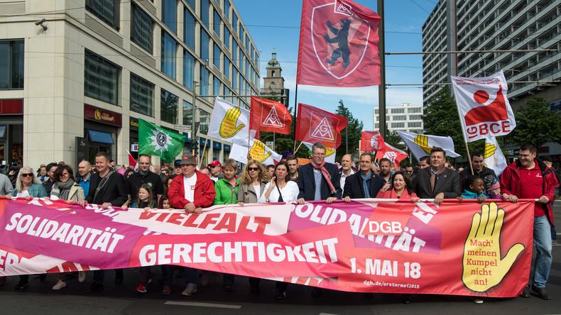 """""""Digitalkapitalismus zivilisieren"""": Gewerkschaften versuchen zum 1. Mai mit der Zeit zu gehen"""