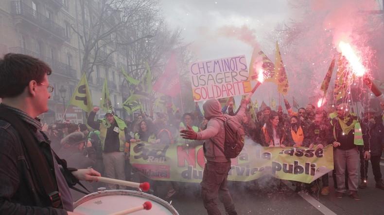 Paris: Ausschreitungen während der Demos zum 1. Mai