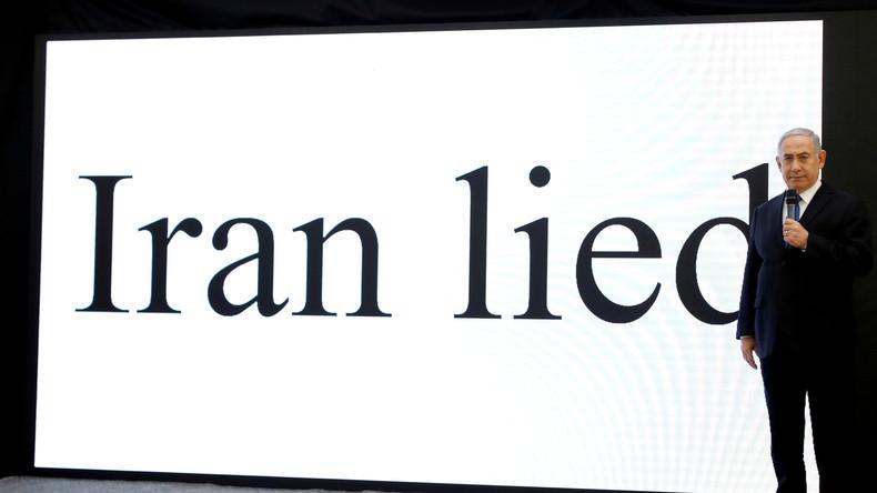 """""""Täuschungsmanöver"""" - Europäer äußern sich skeptisch zu Netanjahus angeblicher """"Iran-Enthüllung"""""""