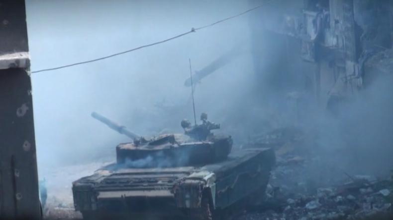 Finale Offensive im Süden der syrischen Hauptstadt: SAA macht letzter IS-Enklave den Garaus