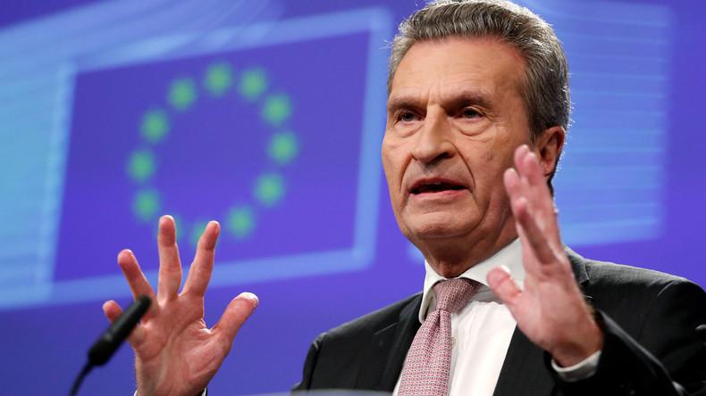 EU-Kommissar Oettinger: Deutschland muss jährlich 11 Milliarden Euro mehr in EU-Haushalt einzahlen