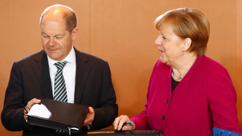 """""""Deutschland wird kaputt gespart"""" - Massive Kritik an Haushaltsplan von Finanzminister Olaf Scholz"""