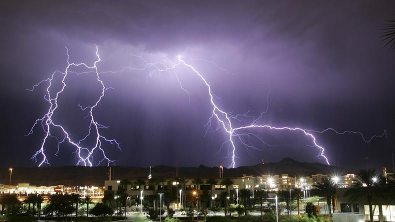 Blitzschlag setzt Hirnimplantat außer Betrieb – Lebensgefahr beim Aufladevorgang möglich
