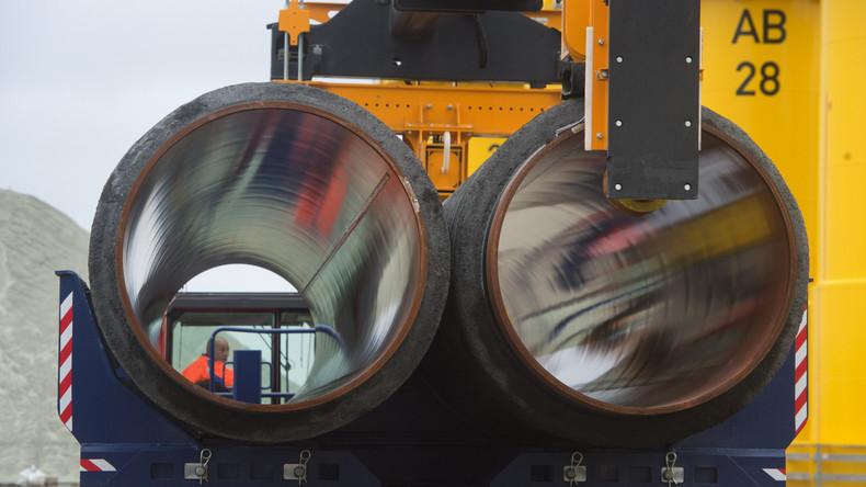 Baubeginn am deutschen Anlandepunkt für Gas-Pipeline Nord Stream 2